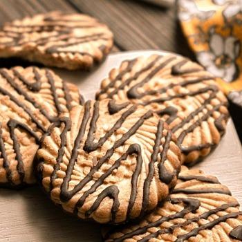 Глазированное печенье